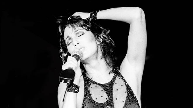 Singer Cher On Stage In San Diego,California In 1989