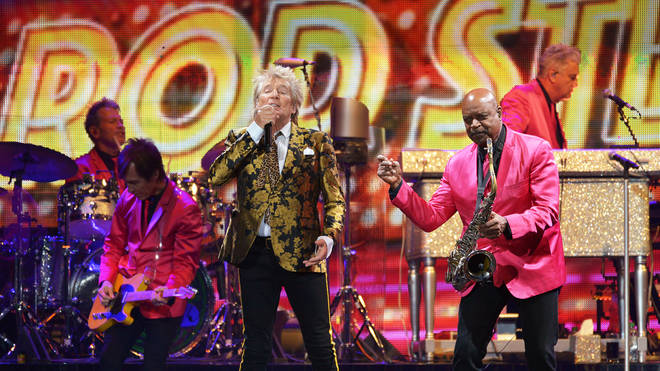 Rod Stewart Performs At The O2 Arena, London