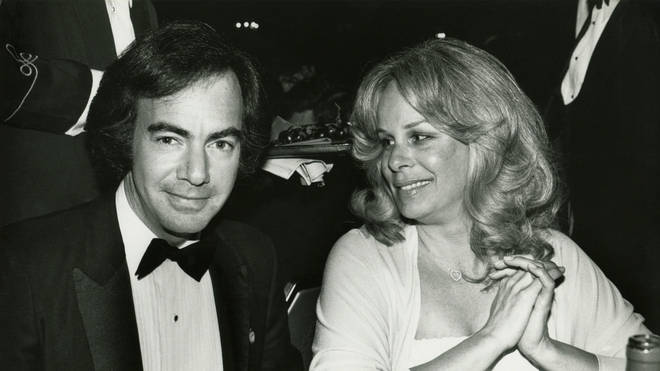 Neil Diamond and wife Marcia in 1981