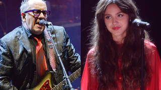 Elvis Costello and Olivia Rodrigo