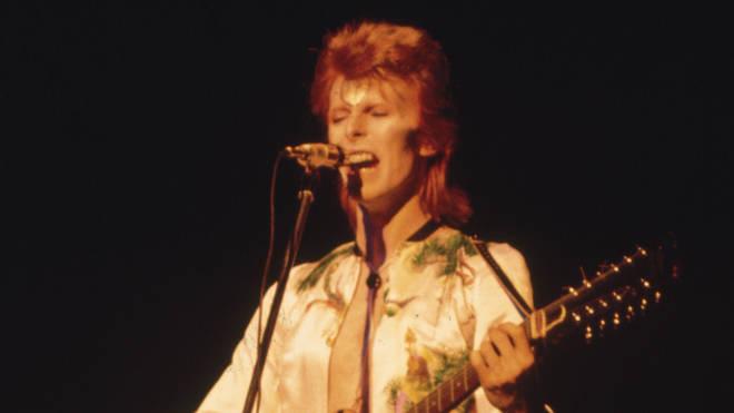 David Bowie in 1972