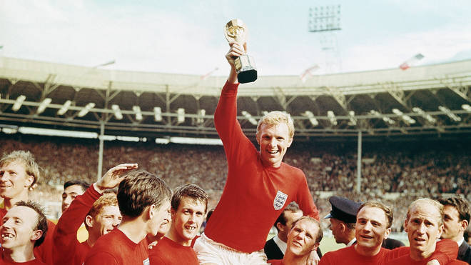 England win the World Cup in 1966