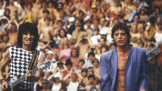 The Rolling Stones in 1982