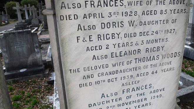 The Grave Of Eleanor Rigby