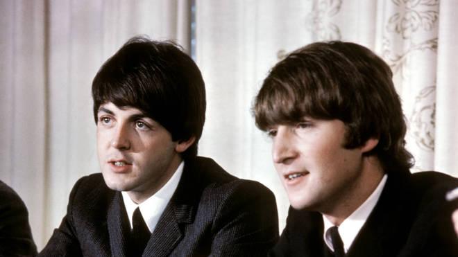 Paul McCartney and John Lennon