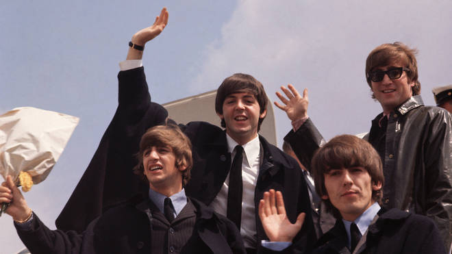 The Beatles on tour