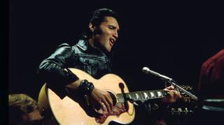 Elvis Presley at the '68 Comeback Special