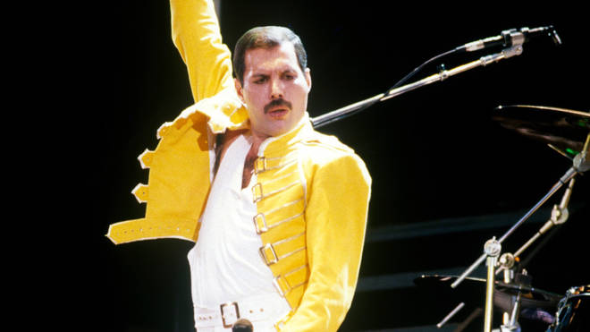 Freddie Mercury at Live Aid