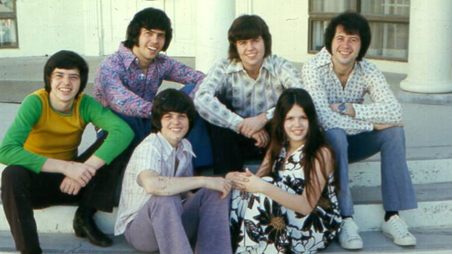The Osmonds in 1970