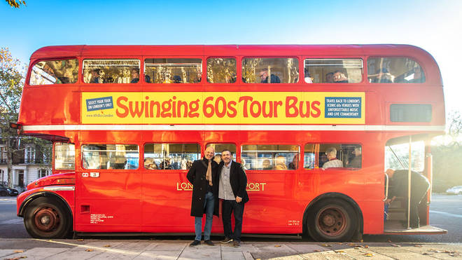 Swinging 60s Tour Bus