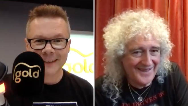 Queen's Brian May speaks to Gold's James Bassam
