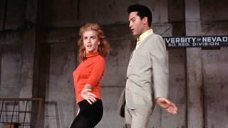 Elvis Presley and Ann-Margaret in Viva Las Vegas
