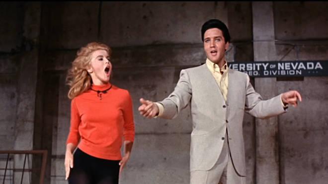 Ann-Margaret and Elvis Presley
