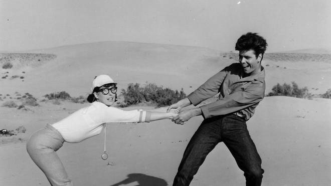 Cliff and Una in 1963