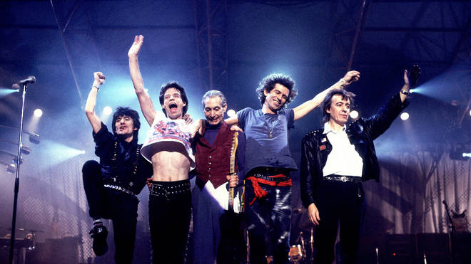 The Rolling Stones on the Steel Wheels Tour