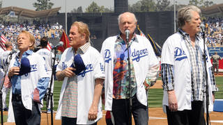 The Beach Boys Celebrate mark their 50th anniversary at Dodger Stadium