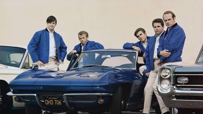The original Beach Boys: Brian Wilson, Al Jardine, Dennis Wilson, Carl Wilson and Mike Love