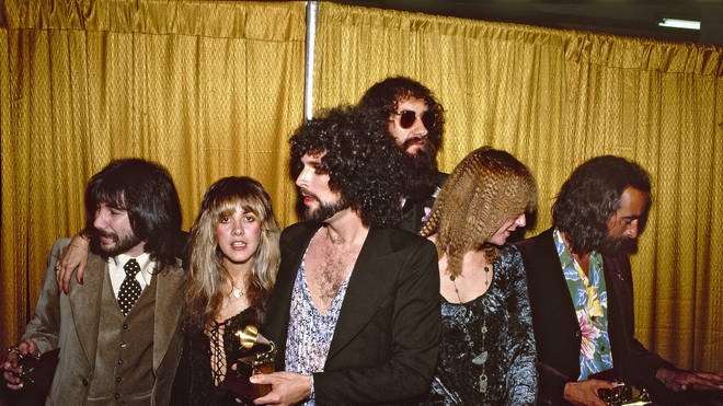 Fleetwood Mac at the Grammys in 1978