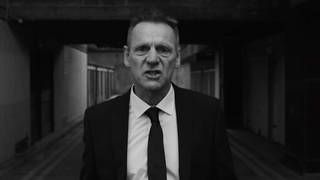 Stuart Pearce in the 'This Song' video for The Stranglers