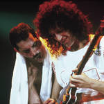 Brian May and Freddie Mercury in Queen