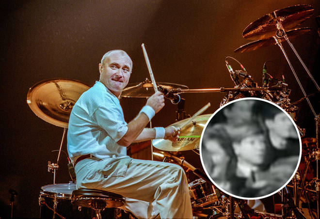 Phil Collins in A Hard Day's Night