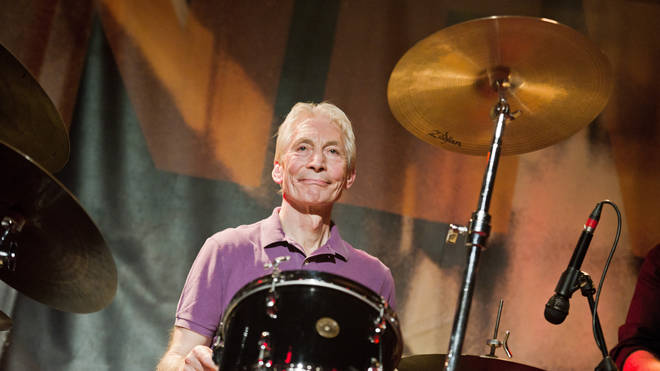 Charlie Watts in concert in 2011
