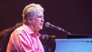 Brian Wilson at the piano in London