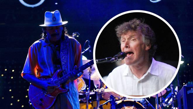 Santana and Steve Winwood in concert