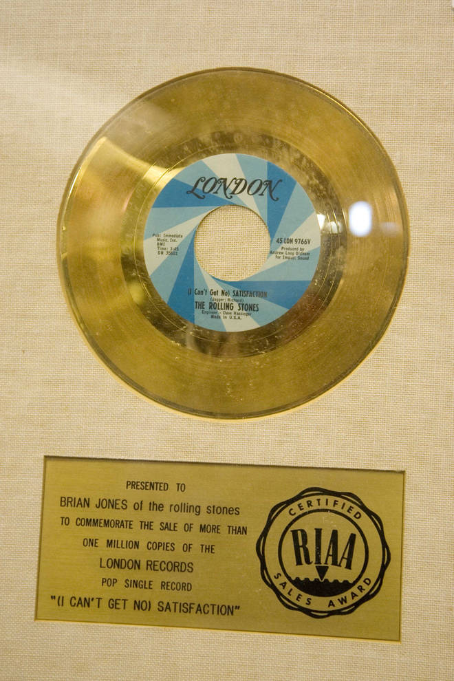 '(I Can't Get No) Satisfaction' goes Gold