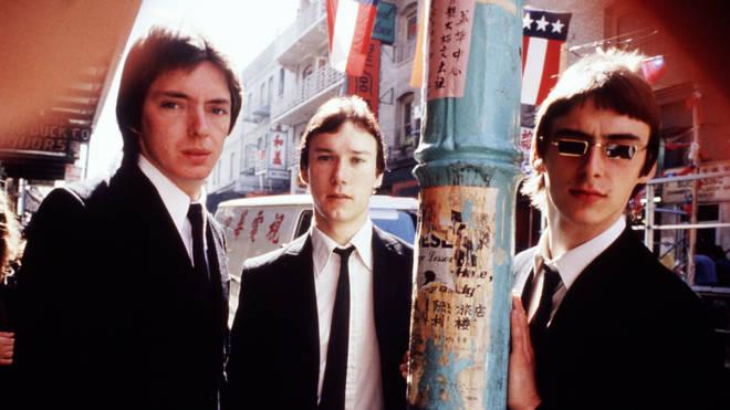 The Jam: Bruce Foxton, Rick Buckler and Paul Weller