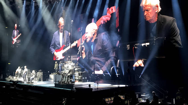 Phil Collins takes centre stage for Genesis