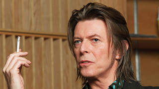 David Bowie in 2001