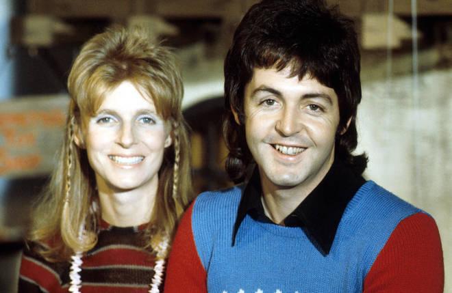 Paul and Linda McCartney in 1973