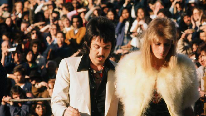 Paul McCartney at the 1974 Academy Awards
