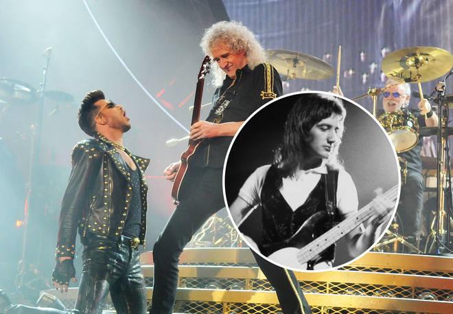 Queen with John Deacon