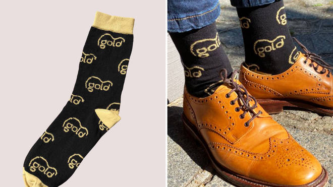 Get your Gold socks today!
