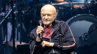 Phil Collins in concert with Genesis