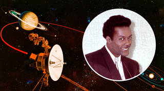 Chuck Berry and the Voyager spacecraft