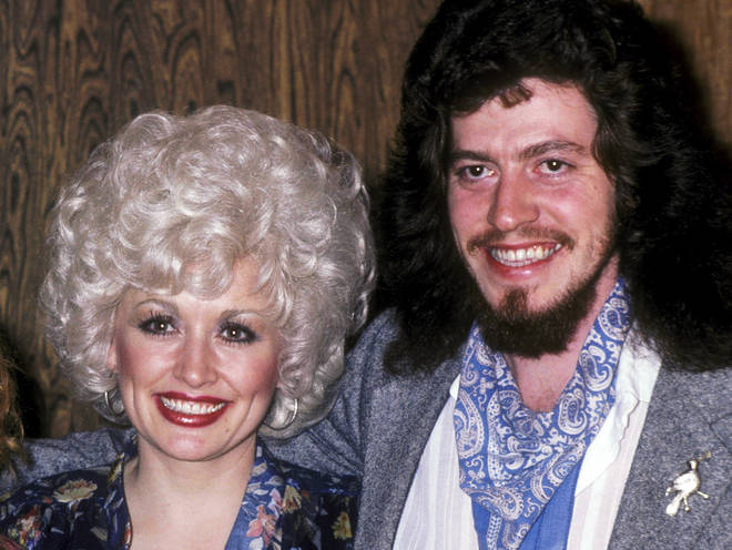 Dolly Parton and brother Floyd