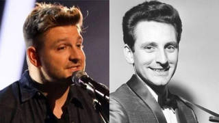 Peter Donegan and his father Lonnie Donegan