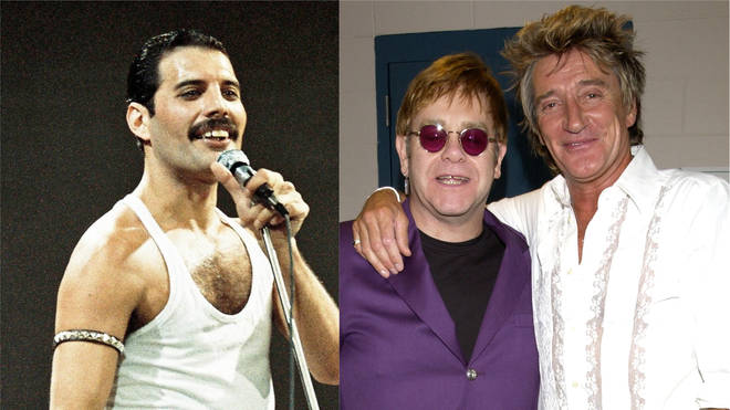 Freddie, Elton and Rod