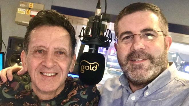 Frank Allen with Tony Dibbin