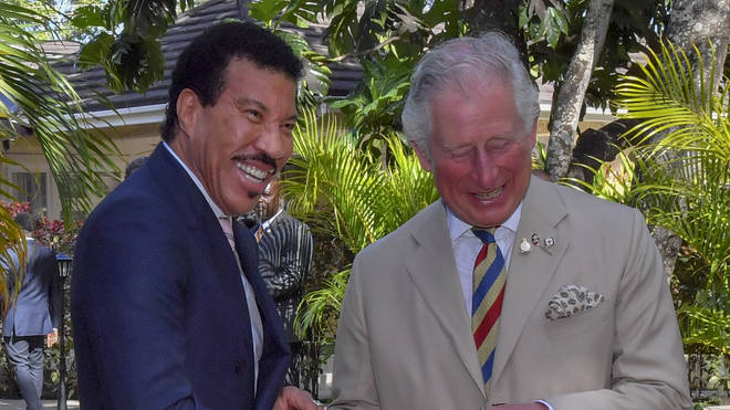 Lionel Richie and Prince Charles