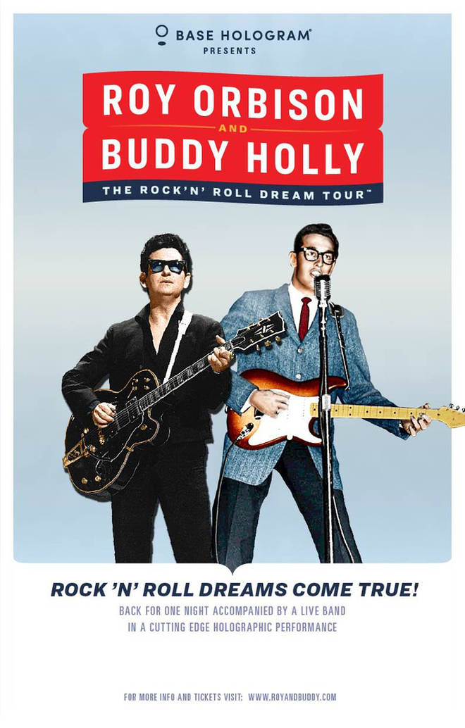 Buddy Holly and Roy Orbison tour