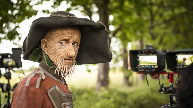 Mackenzie Crook as Worzel Gummidge