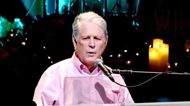 Brian Wilson performing in 2018