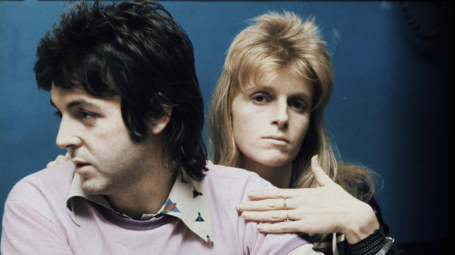 Paul And LInda in 1973