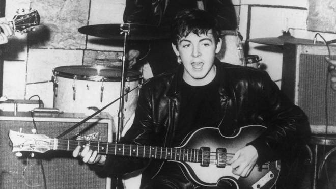 Paul McCartney in 1960