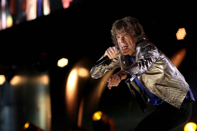 Mick Jagger returns.