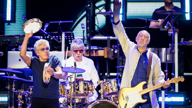 The Who Perform At Wembley Stadium